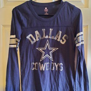 PINK BY VICTORIA'S SECRET DALLAS COWBOY LS